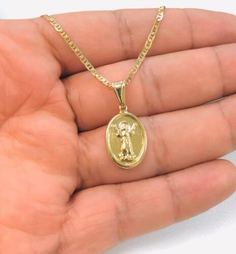 Medalla del Divino Ninõ con Cadena Gucci para Mujer, Divino Niño Pendant 24x18mm
