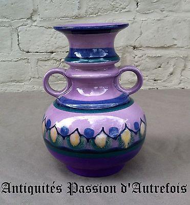 B2017240 - Petit vase de 17 cm en céramique Lila flora Holland - Très bon état