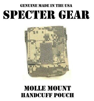 SPECTER GEAR 320 ACU MOLLE MOUNT HANDCUFF CASE US MILITARY POUCH SWAT LEO DUTY
