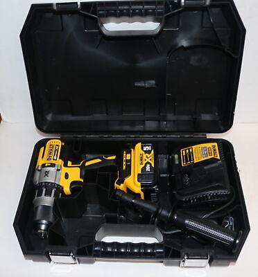 Dewalt 20v Max Xr Li 12 Cordless Brushless Hammer Drill Battery Charger