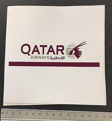 Official QATAR Airlines Airways Souvenir WINDOW Sticker