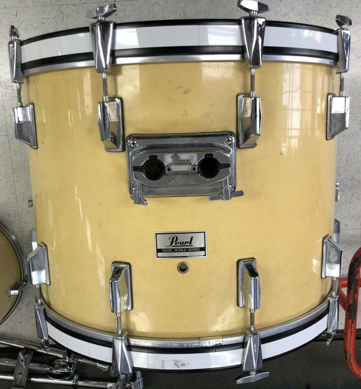 Pearl 22 x 16 World Series Bass Drum (now Yellow)