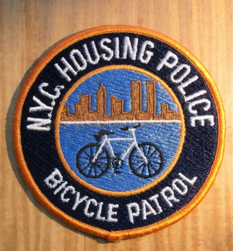 GEMSCO NOS PDNY Vintage Patch NYC HOUSING POLICE BICYCLE PATTOL NY Original 30+