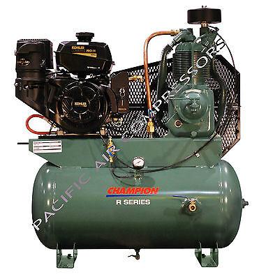 2475f14g Champion Hgr7-3k 14hp 2-stage Gas Compressor 30 Galtank Mount Kohler