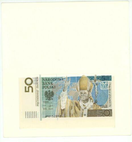 Poland … P-178 … 50 Zlotych … 2006 … *UNC* ... Commemorative folder.