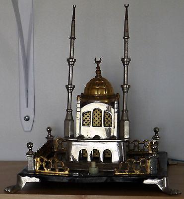 MOSQUE ORTAKOY ISTANBUL Large Vintage Metal Souvenir Building Lamp