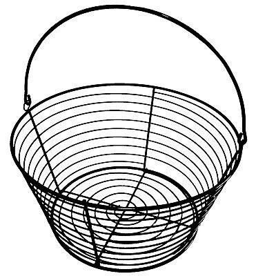 Rite Farm Products 13 Wire Basket 96 Egg 8 Dozen Capacity Chicken Poultry Duck