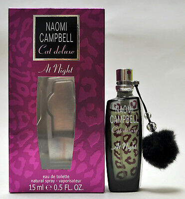 Naomi Campbell Cat Deluxe At Night 0 5Oz 15Ml Eau De Toilette Spray