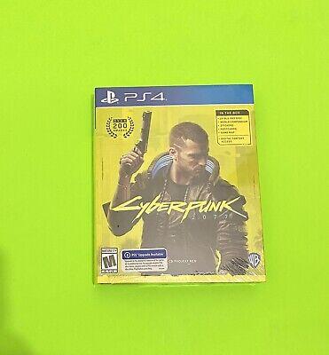 Cyberpunk 2077 PlayStation 4 - NEW SEALED FREE SHIPPING!