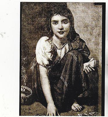 tune Teller Mädchen mit Kartenspiel (B239) (Fortune Teller Spielen)
