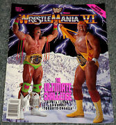 WWF Wrestlemania Program
