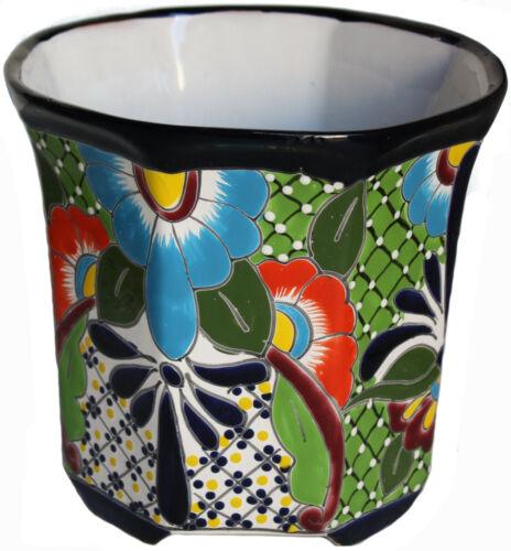 Sevina Mexican Colors Talavera Ceramic Garden Pot
