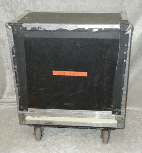 1x12 guitar combo amp road case with casters