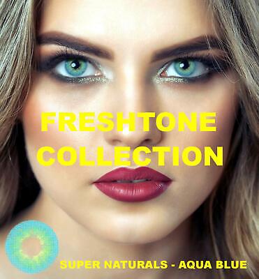 Farbige Kontaktlinsen mit Stärke blau grün grau Monatslinsen - Grüne Farbige Kontaktlinsen