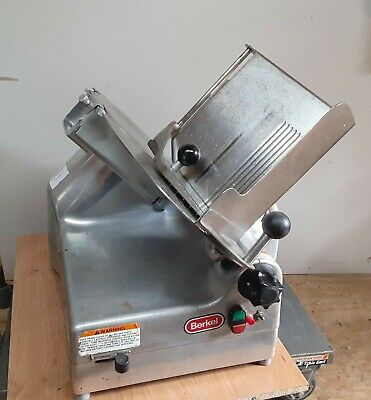 Berkel 9191 Commercial 2-speed Automatic Or Manual Gravity Feed Slicer