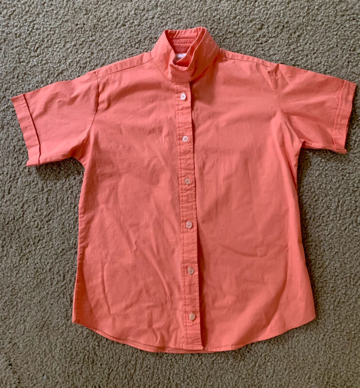 English Riding Equestrian Shirt girls SZ Med Show Competition