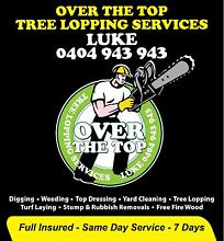 Over The Top Tree Lopping Services Granville Parramatta Area Preview