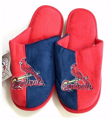 St Louis Cardinals MLB Baseball Dual Colour Slippers : Large