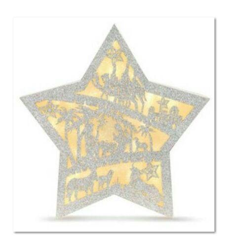 Lit Nativity Scene Star Figure - New from Dealer