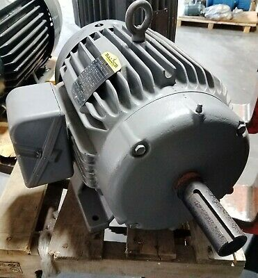New Baldor 15 Hp 3 Phase Industrial Motor M2333t  230460 Volt 1760 Rpm