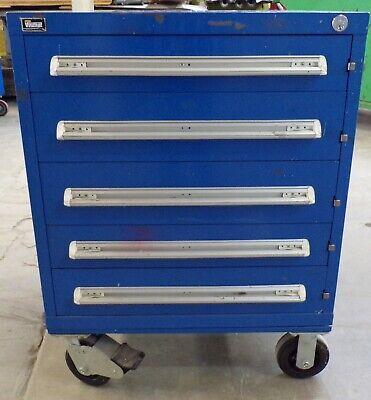 Stanley Vidmar Tool Cabinet Rp1151 5 Drawer 30 X 27 34 X 40