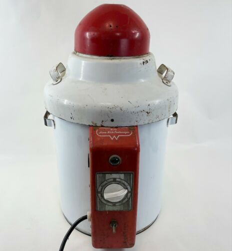Antique WARDS Home Milk Pasteurizer Primitive Heater Metal Purification Machine