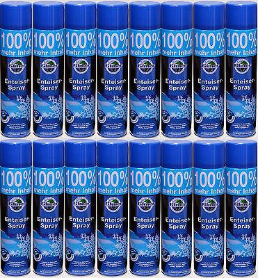 # 16x 600ml Enteiser Eisfrei Scheibenfrostschutz Scheibenenteiser Enteiserspray