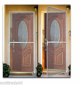 Instant screen door mesh keep bugs out fresh air in home for New screen door home depot