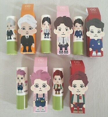 Nature Republic - Exo Limited Edition Lip Balm 5 ml - Set of 5 lipsticks