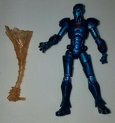 Marvel Universe Series 1 #009 STEALTH IRON MAN Loose 3.75