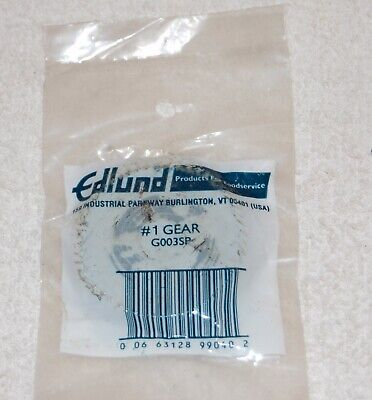 Genuine Edlund G003sp 1 Commercial Can Opener Gear Replacement