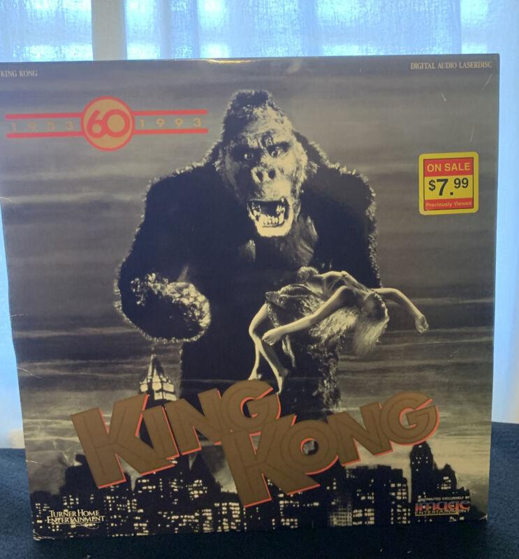 KING KONG 60th ANNIVERSARY Laserdisc LD [ID2133TU]
