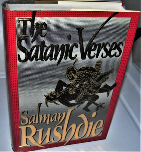 THE SATANIC VERSES by Salman Rushdie FIRST PRINTING FIRST US EDITION in dj FINE
