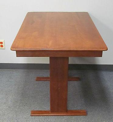 26 x 40 Dinette Table Hardwood Venetian Maple Motorhome Used in Heartland RV