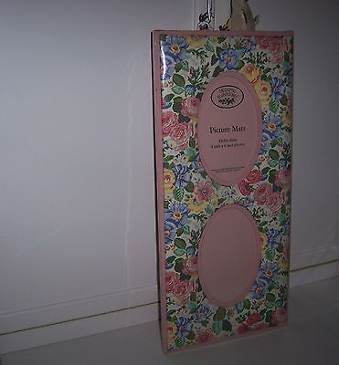 Laura Ashley Picture Mats FRAME Shabby French Paris Chic Cottage Country 2photos - Paris Photo Frame