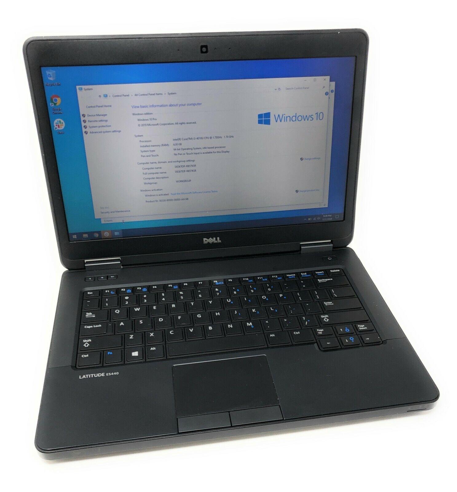 Laptop Windows - Dell Laptop Latitude E5440 Core i3 4th Gen 320GB WIFI Windows 10 Pro HDMI Webcam