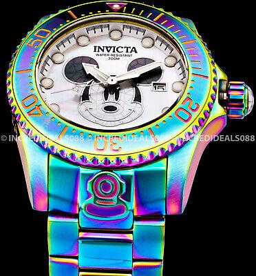 Invicta Mickey Mouse Disney Grand Diver Ltd Ed MOP Iridescent Automatic Watch