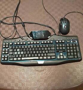 logitech g19s gaming keyboard and mouse great condition Adelaide CBD Adelaide City Preview