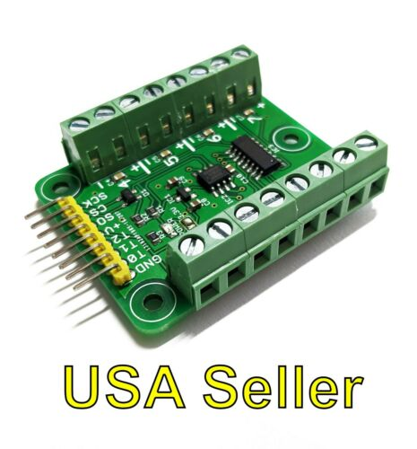 Octo (8) MAX31855 thermocouple breakout board for 5V systems (type K, K-type)