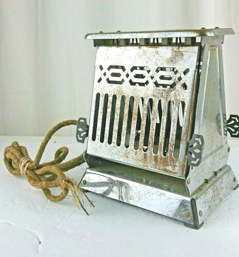 ANTIQUE GE GENERAL ELECTRIC HOTPOINT TOASTER A-33