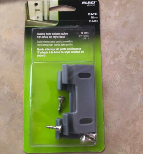 Prime-Line Products M 6191 Shower Door Bottom Hook Guide,(Pack of 2) ***