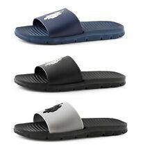 US Polo Assn. Men's Premium Slides Sandal Beach Sandals Pool Flip-Flops S M L XL