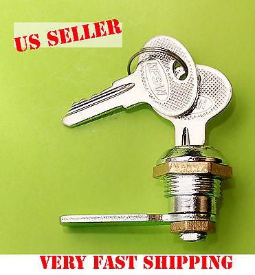 Lot Of 5 Key Cam Lock Cabinet Box Drawer Mailbox Cupboard Desk Safe 057.1.01.30