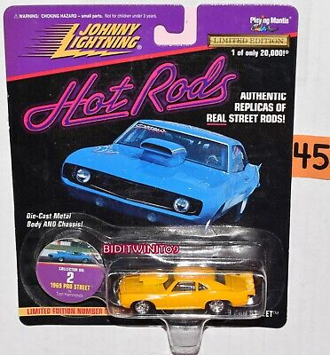 Johnny Lightning Caliente Varillas 1969 Pro Calle #2 Edición Limitada Con +