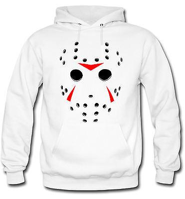 Jason Maske Kapuzenpullover | Freitag der 13 | Horror | SAW | Freddy | M2 (Kapuzen Maske)