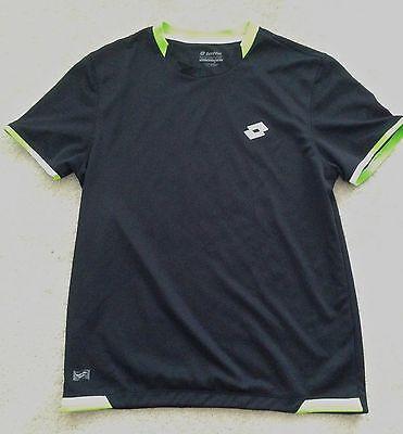 Lotto Men's Crew Neck Tennis Shirt - Size M