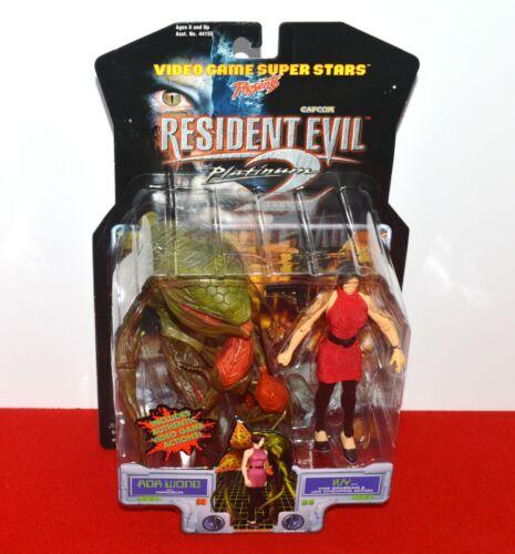 Resident Evil 2 Platinum Ada Wong & Ivy Action Figure Set Capcom ToyBiz Sealed