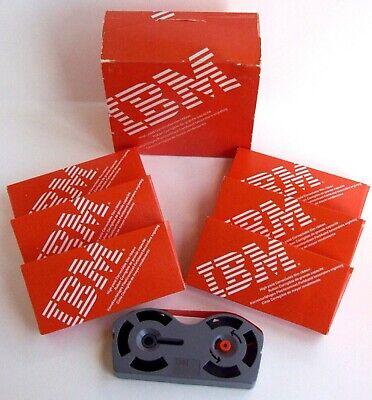 Ibm Selectric Typewriter Ribbons Lot Of 6 High Yield Correctable Film 1299095