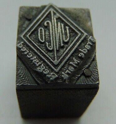 Vintage Printing Letterpress Printers Block Un Co Trademark
