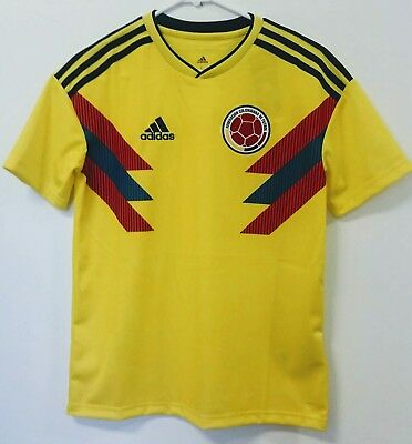 0815d740699 SOCCER YOUTH NEW ADIDAS JERSEY COLOMBIA TEAM JAMES RODRIGUEZ